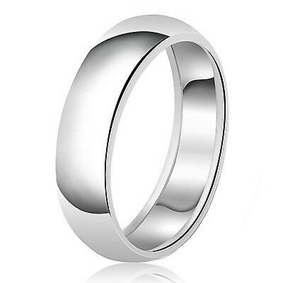 FREE Sizing and Engraving 8mm Handmade Brushed 925K Sterling Silver Designer Half Domed Wedding Band Ring