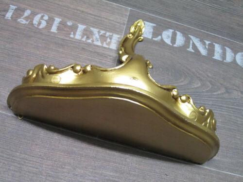 MINI WANDKONSOLE KONSOLE ABLAGE GOLD BAROCK REPRO 23,5x10x18 Wandspiegel 2