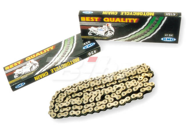 3869: KMC Cadena moto KMC 520x118 oro