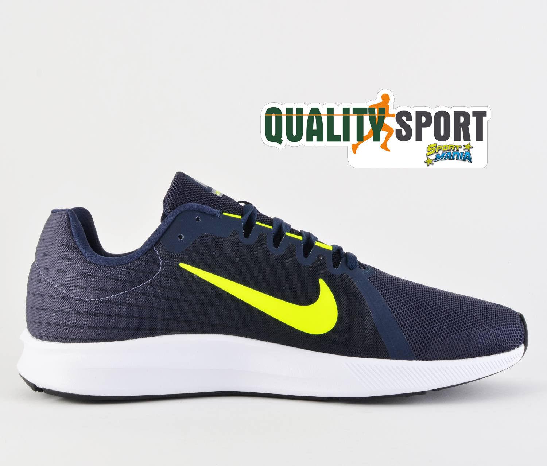 Nike Downshifter Deporteive 8 Blu Giallo Zapatos Zapatos hombre Deporteive Downshifter Running 908984 007 2018 cdcbcd