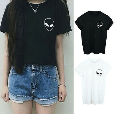 Summer Women Casual Short Sleeve Loose Summer Cotton T-shirt Tops Shirt Blouse