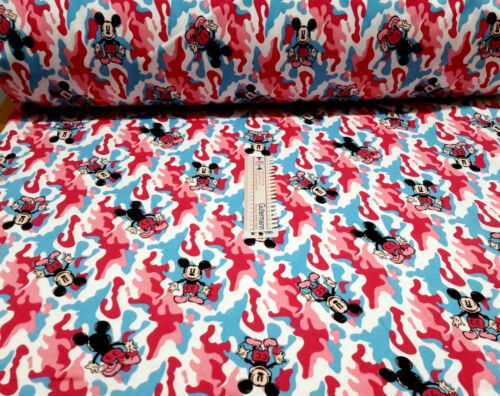 15,00 EUR//Lfm Disney Maus  Jersey Sweatshirt Baumwolle Meterware Pumphose Beanie