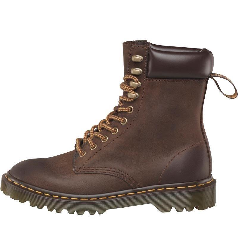 Dr Martens Padten Größe Burnished Wyoming Stiefel Dark Braun - Größe Padten UK 6.5 93dc9e