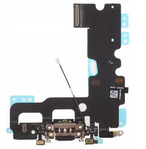 Ladebuchse für iPhone 7 Mikrofon Flex USB Charging Connector Microphone schwarz