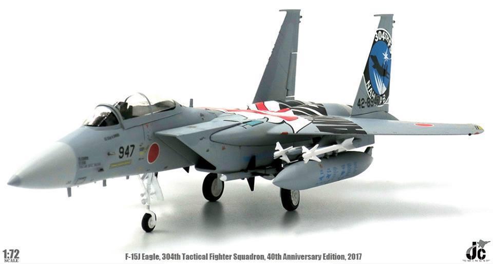 Jc Wings 1 72 F-15j Eagle Jasdf 304 Táctico Luchador Sqn 40th Aniversario