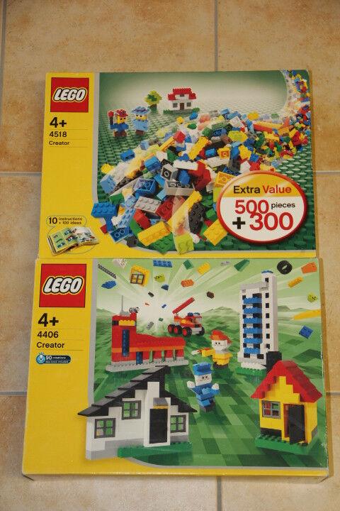 LEGO Creator 4518 + 4406 Bausatz gebraucht in OVP