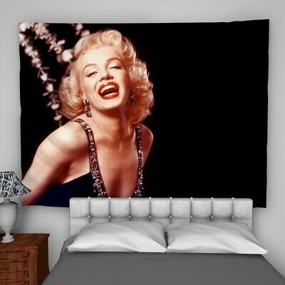 Marilyn Monroe Wall Hanging Tapestry Psychedelic Bedroom Home Decoration