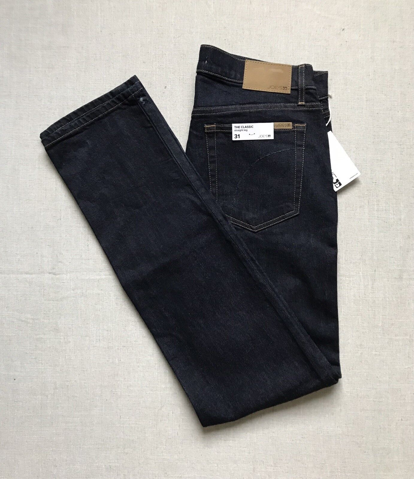NWT MENS Size 31X35 JOES THE CLASSIC STRAIGHT LEG STRETCH DENIM JEANS