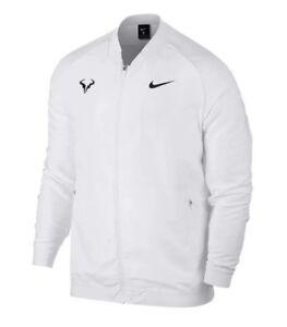 916f9f33 Nike Court Premier Roger Federer RF Tennis Jacket White Black SZ ...