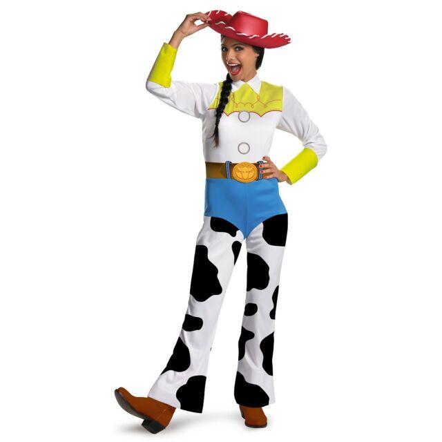 Jessie Costume for Adults Disney Toy Story Cowgirl Western Halloween Fancy Dress