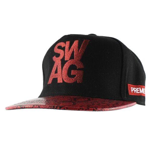 SWAG Snake Brim Baseball Cap Casual Trucker Snapback Hat Women Men Unisex Adjust
