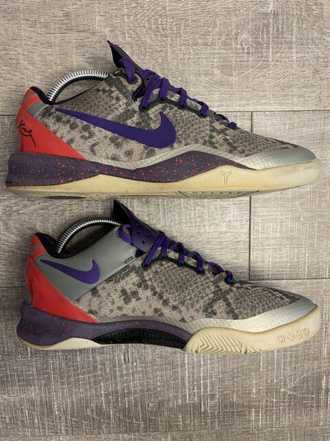 Nike Kobe VIII 8 GS Grey Purple