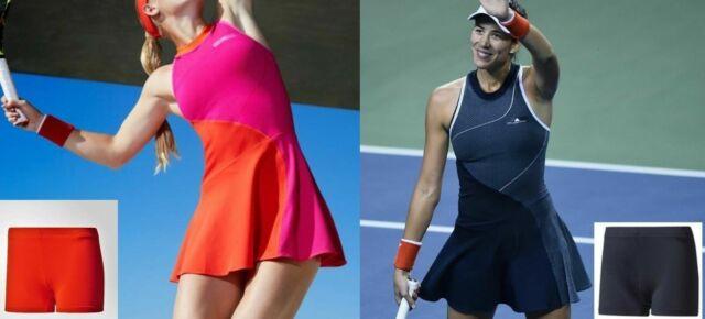 Atomic Pink Premier Maria Tennis Dress Nike Premier Maria Paris Tennis Dress - White/legend Blue L for ...