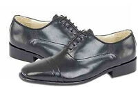 Shoes Montecatini Leather Classic Italian Styled Lace-up In Black Uk6 - 12