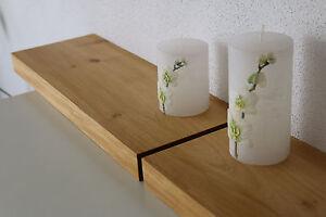 Wandboard-2x-Akazie-Massiv-Holz-Board-Regal-Steckboard-Regalbrett-Baumkante-NEU