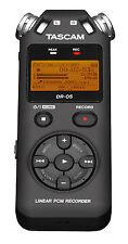 Tascam dr-05 v2 linear-pcm/mp3 - grabador + microSD 4gb