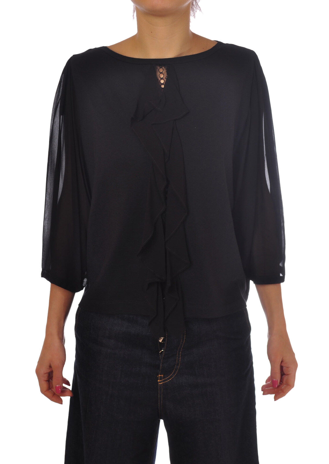 Twin Set - Shirts-Blouses - Woman - schwarz - 5107231G184351