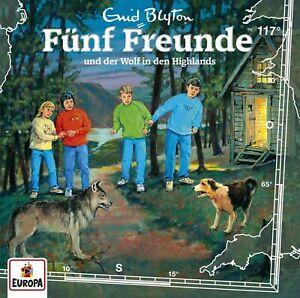 FUNF-FREUNDE-117-UND-DER-WOLF-IN-DEN-HIGHLANDS-CD-NEW