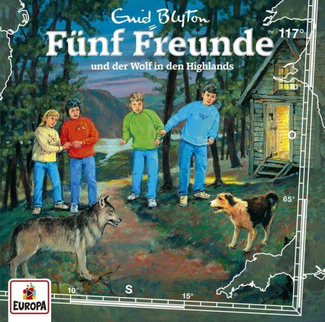 FÜNF FREUNDE - 117/UND DER WOLF IN DEN HIGHLANDS   CD NEW