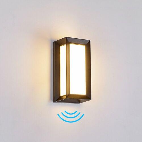 Led Außenleuchte mit Bewegungsmelder Treppen Wand Leuchte Außenlampe 18W
