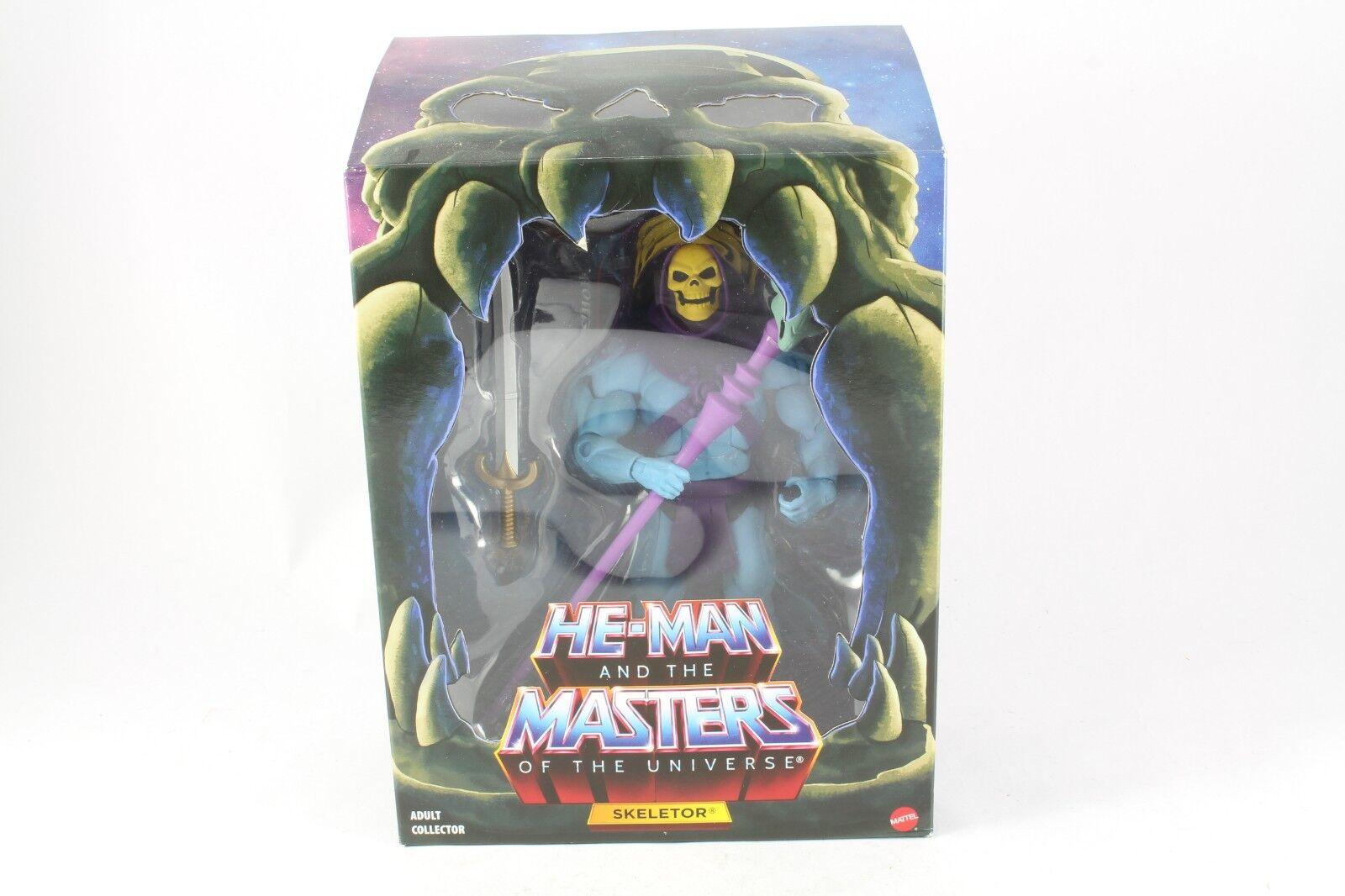He-Man MOTU Classics Skeletor Filmation Figure Mattel New Sealed