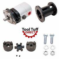 Log Splitter Build Kit 28 Gpm Pump, Coupler, Mount, Bolts, Heavy Duty Hydraulic