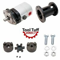 Log Splitter Build Kit 28 Gpm Pump, Coupler, Mount, Bolts, Heavy Duty Hydraulic