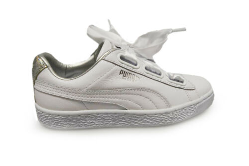 White Basket Puma Womens Heart Diamond Silver Crushed Triple 36506601 Traine 5O7qw0p6xq