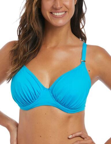 Fantasie Paradise Bay Gathered Full Cup Bikini Top 6549 New Womens Swimwear