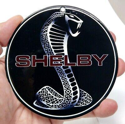 ZIC Motorsports Shelby Cobra GT350R Red Badge Emblem Heavy Duty Metal Garage Wall Sign 40 X 24