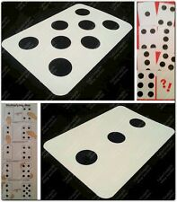 MULTIPLYING DOMINO DOTS HOPPIN SPOTS PIPS WHATS NEXT DUBIOUS DOMINO MAGIC TRICK