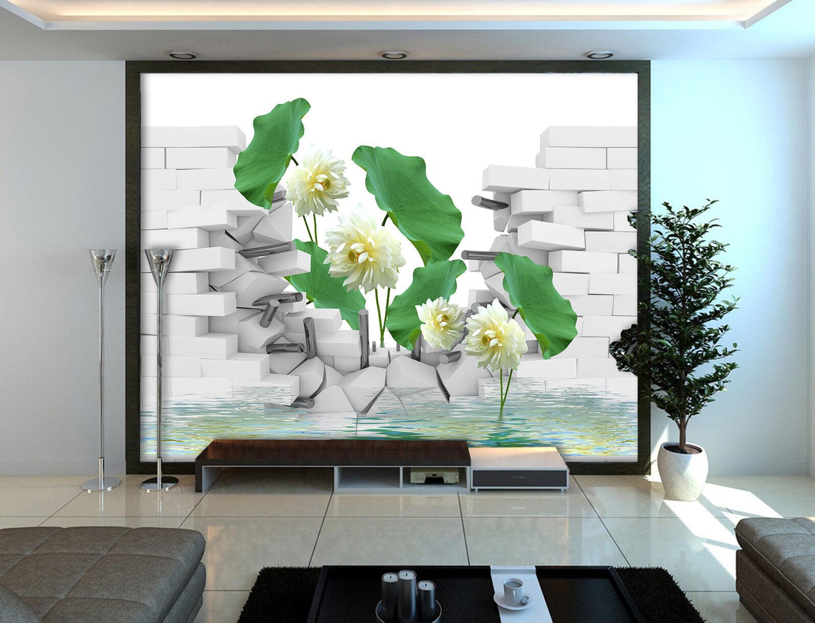 3D 3D 3D Blaumen Wand Natürlich 983 Tapete Wandgemälde Tapeten Bild Familie DE Jenny   Ausgezeichnete Leistung    Günstige Bestellung    Online Shop Europe  eca2ab