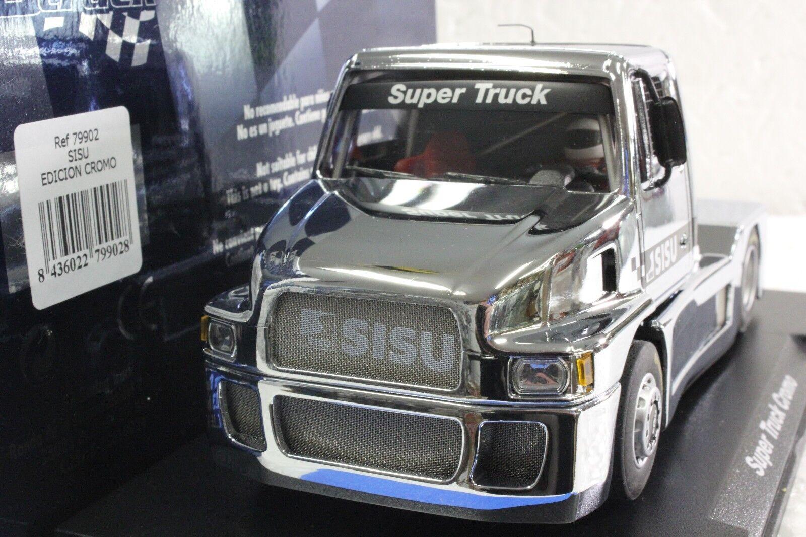 Volar GB 79902 Sisu SL-250 Súper Camión Cromo Edición Limitada Nuevo 1 32 Coche