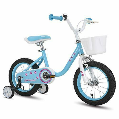 "CYCMOTO Girls Bike for 3-6 Years Child 14 Inch|Blue 14/"" /& 16/"" Kids"