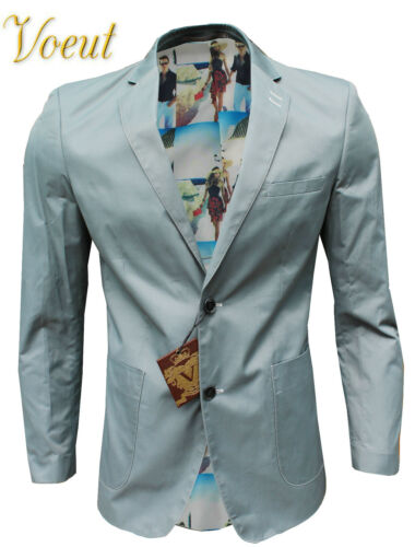 New Mens Slim Fit Blazers Premium Gents Wedding Formal Business Suit Jacket