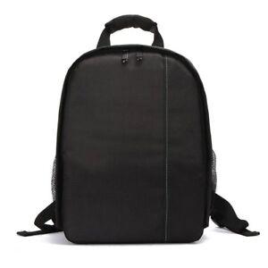 Multifunction Large Camera Backpack Bag For Canon Nikon Sony DSLR LOT HM