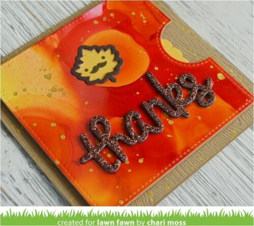 """Lawn Fawn 8 1//2 x 11/""""  ~ SPARKLE Cardstock Sheets ~ AUTUMN  ~ 5ct ~LF1748"""