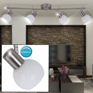 Chrom Decken Beleuchtung Balken Strahler Leuchte Wohn Zimmer Lampe Spots drehbar