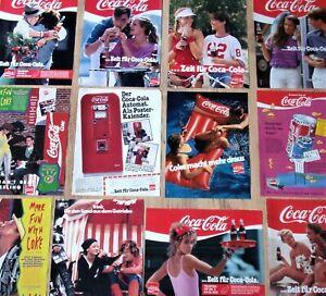 12-COCA-COLA-Werbung-Seiten-70er-80er-90er-Jahre-Sammlung-collection-Coke