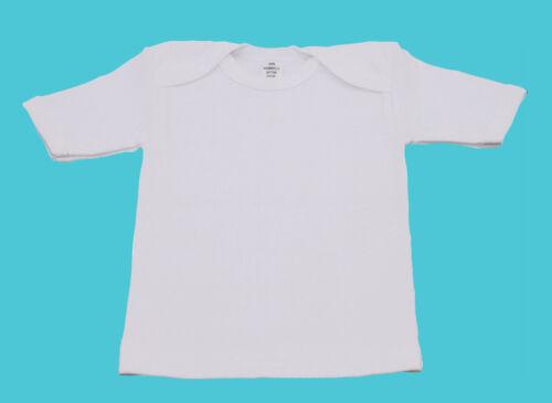 Baby Shirt  Erstlingshemd  Baumwolle weiss Feinripp Schlupfform Babywäsche