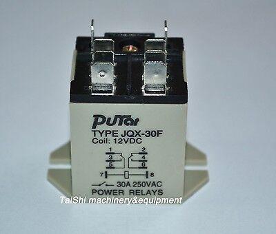 TOP QUALITY JQX-30F 2Z DC 12V Coil 30A 250V AC Power Relay 8 Pin DPDT