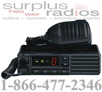 Vertex Vx-2100 Uhf 450-512mhz 8ch 25w Mobile Police Fire Business Towing