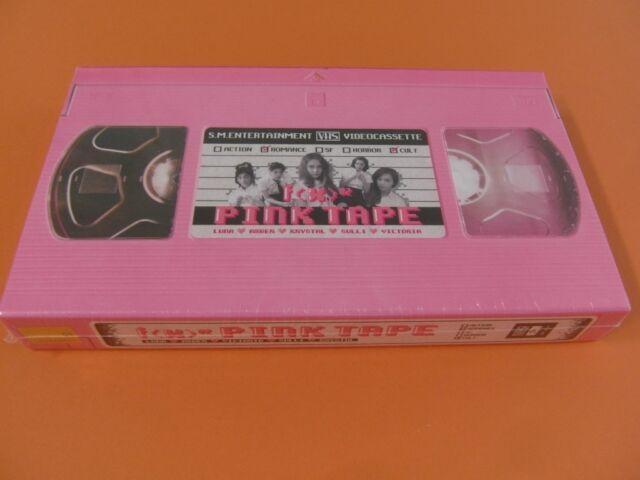 f(x) - Pink Tape (2nd Album) CD w/Photobook & Photo Card (Sealed) $2.99 Ship FX
