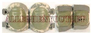 One Set of US ARMY Surplus ACU McGuire-Nichol<wbr/>as Tactical Elbow & Knee Pads VGC