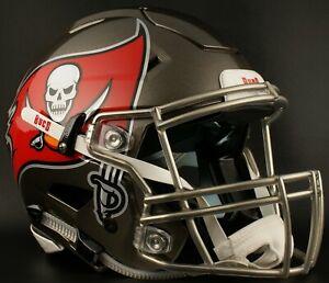Tampa Bay Buccaneers Nfl Riddell Speedflex Full Size Authentic Football Helmet Ebay