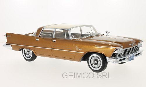 kejserlig Crown söderampton 4 -Door 1957 BoS modellllerler 1 18 BOS140 Förlaga