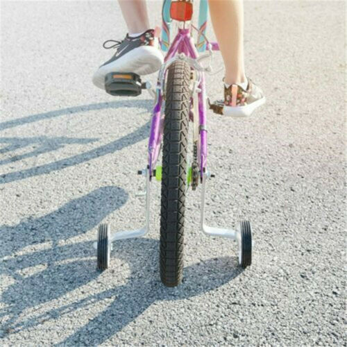 Details about  /Kid Children Bicycle Heavy Duty Training Wheel Kit Fit 12//14//16//18//20-Inch Wheel