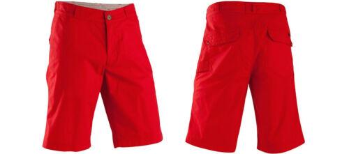 Gr 44-60 EXKLUSIVE 8241591 Herren Shorts Bermudas Sporthose Wanderhose rot