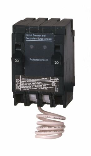 Murray MSA2020SPD House Surge Protection with Two 1 pole 20 Amp breaker