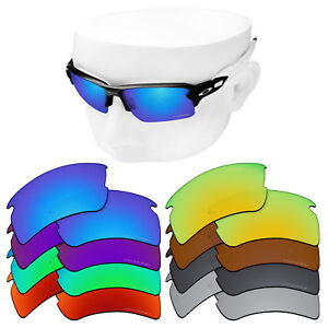 af56e6fc017 OOWLIT Iridium Replacement Lenses for-Oakley Flak 2.0 XL Sunglasses ...